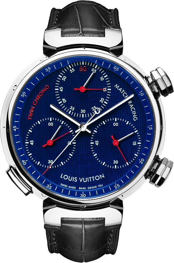 Louis Vuitton Tambour Twin Chrono Watch