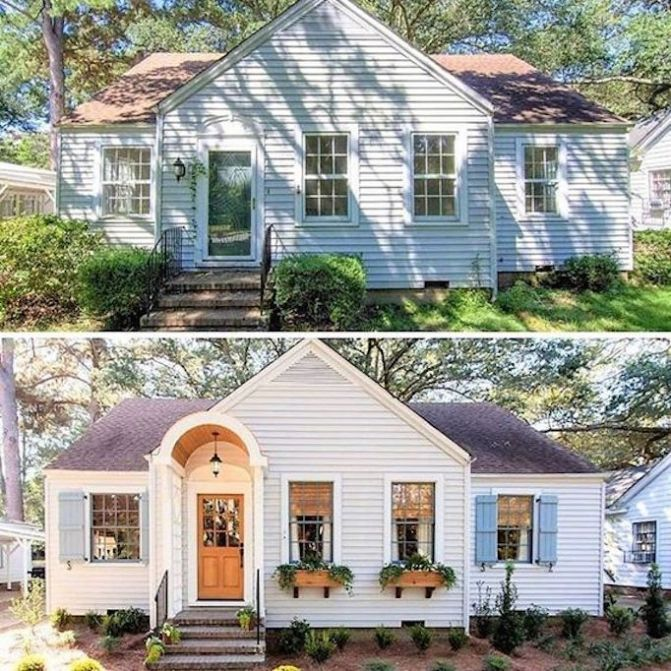 Transformation Tuesday Becki Owens In 2020 Home Exterior Makeover House Makeovers House Exterior
