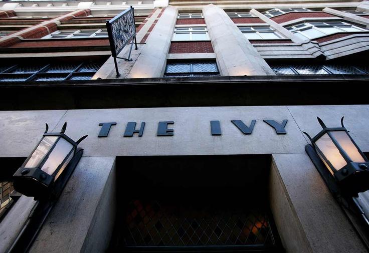 The Ivy, London. My favourite restaurant. Om nom nom nom.