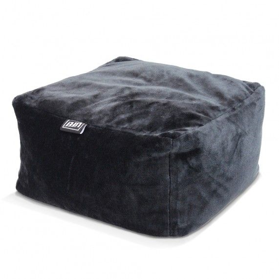 The versatile faux fur ottoman coupled with the faux fur bean bag, becomes the ultimate sumptuous seat in the house. From lifeliveitup.com.au