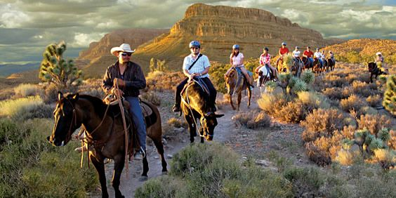 Grand Canyon Ranch,   I rode a horse here in 2011. Then on to the helicopter ride down into the Grand canyon.