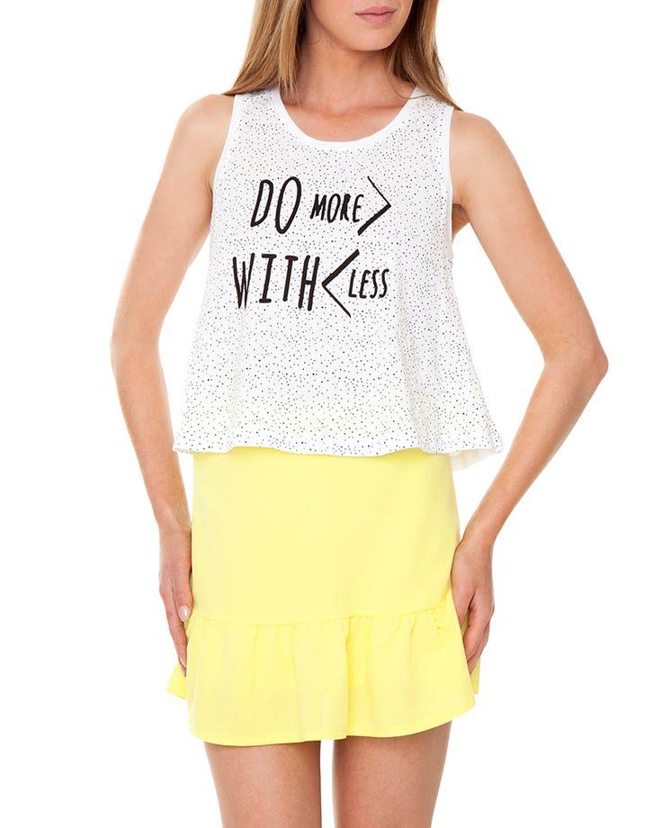 Αμάνικη μπλούζα | Pink Woman