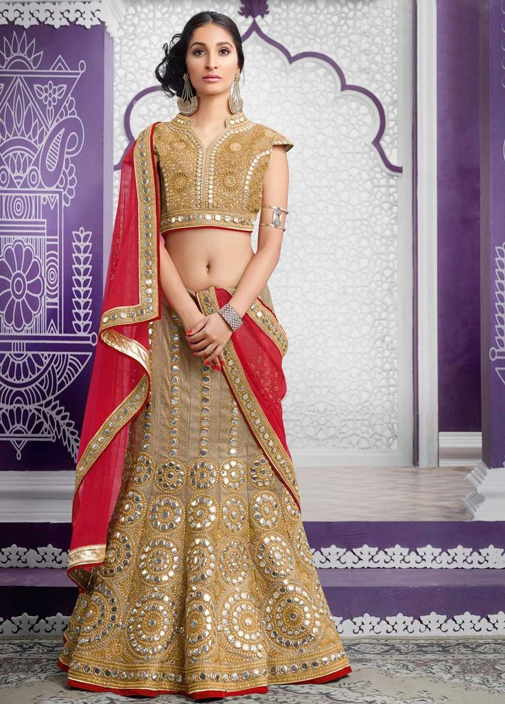 Wedding Wear Lehenga Choli For Bride