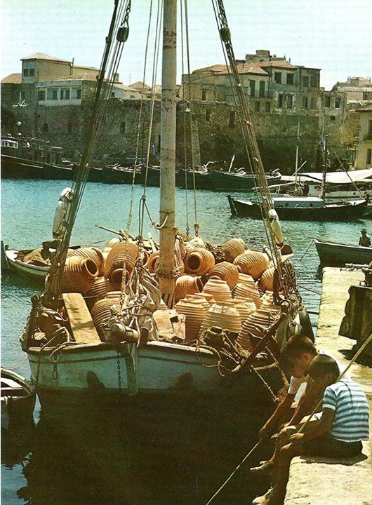 Iraklion 1960 ♥ Crete Once Upon A Time