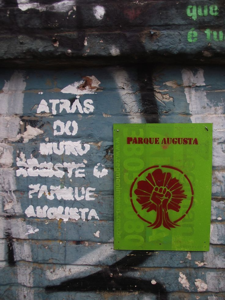Don Ortiz/ São Paulo - Brazil .......Parque Augusta
