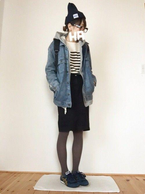 archivesのニット・セーターを使ったはなこ**のコーディネートです。WEARはモデル・俳優・ショップスタッフなどの着こなしをチェックできるファッションコーディネートサイトです。