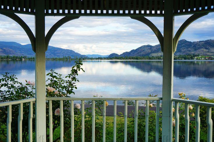 Pavillon view to south at Osoyoos Lake