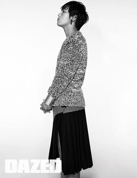 #DazedKorea Dec issue 2015 #Editorial.    #Fashion_ Seok Bin Seo. #Photography_ Yeong Jun Kim. #Model_ #LeeHongGi