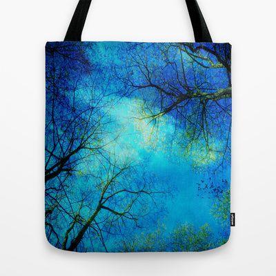A new day Tote Bag by Angela Bruno - $22.00 #bag, #totebag, #tasche, #borsa