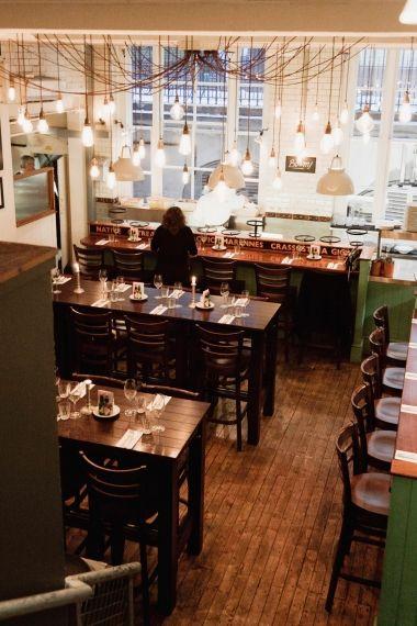 Kaper Design; Restaurant & Hospitality Design:    lighting
