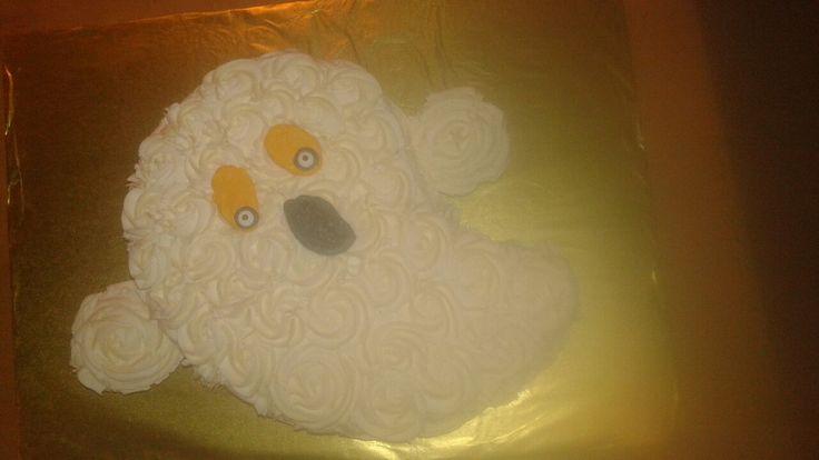 boo...ghost cake