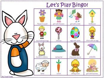 Easter Bingo / Spring Bingo Game