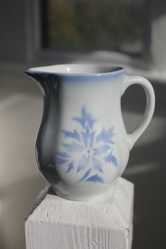 Small Aster creamer / pitcher by Arabia Finland via Etsy