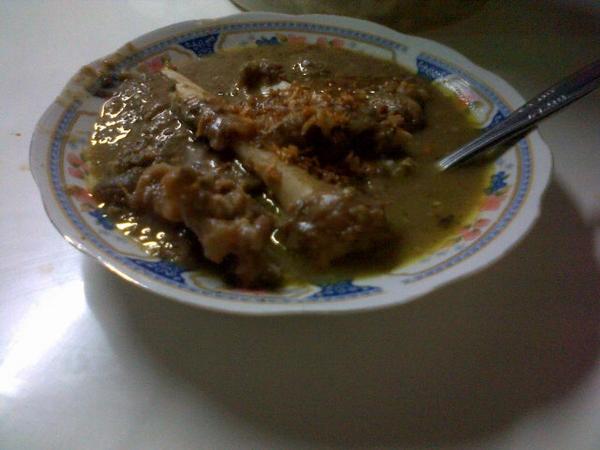 gule sumsum kacang ijo Ma Yeh Krapyak via @dadikrismatono