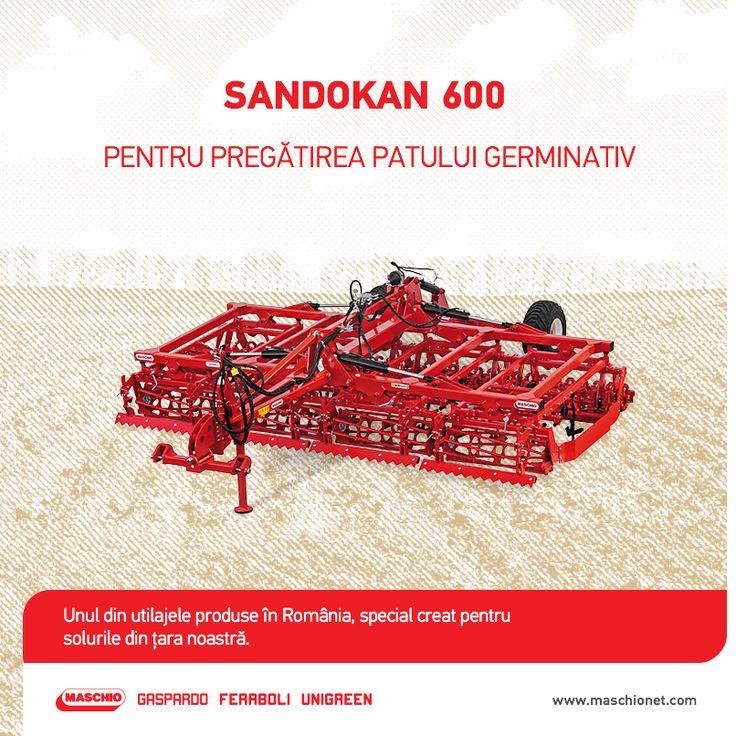 Sandokan 600 este un preparator de precizie optim pentru culturile mari și special conceput pentru terenurile din țara noastră. Utilajul este dotat cu bară nivelare centrală și posterioară, cadru pliabil și are o lățime de lucru de 600 de cm. Este un utilaj ideal pentru tractoare de 170-200 cai putere. Profită de ocazie și întâmpină noul sezon cu preparatorul Sandokan 600, acum la un preț special. Utilajul este disponibil prin rețeaua de dealeri autorizați Maschio Gaspardo.