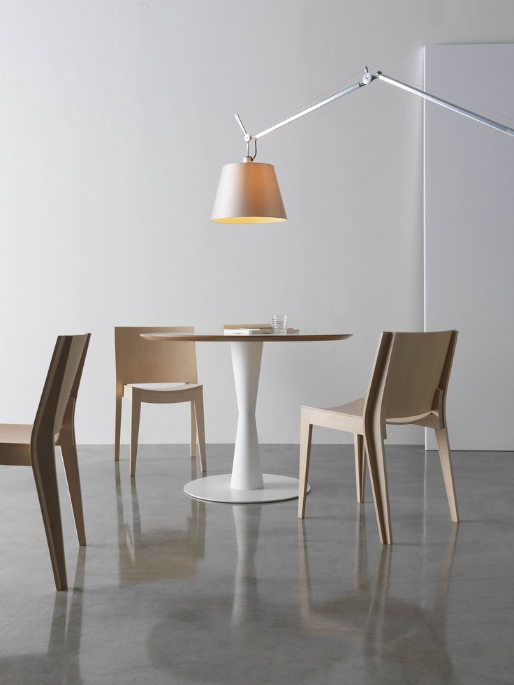 #Mistral, wooden chair by Bartoli Design for Segis