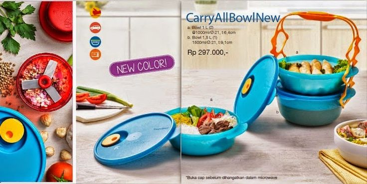 TOKO TUPPERWARE ONLINE : Tupperware Carry all bowl