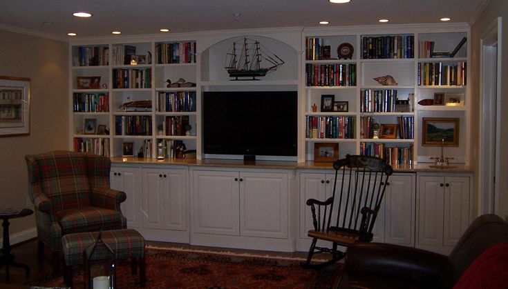 Stylish Entertainment Centers For Flat Screen Tvs Idea: Entertainment Centers For Flat Screen Tvs With Bookcase
