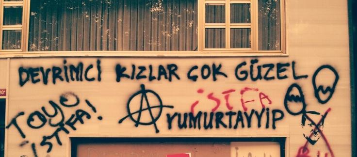 """""""Devrimci kizlar çok güzel""""  """"Revolutionary girls are very beautiful"""""""