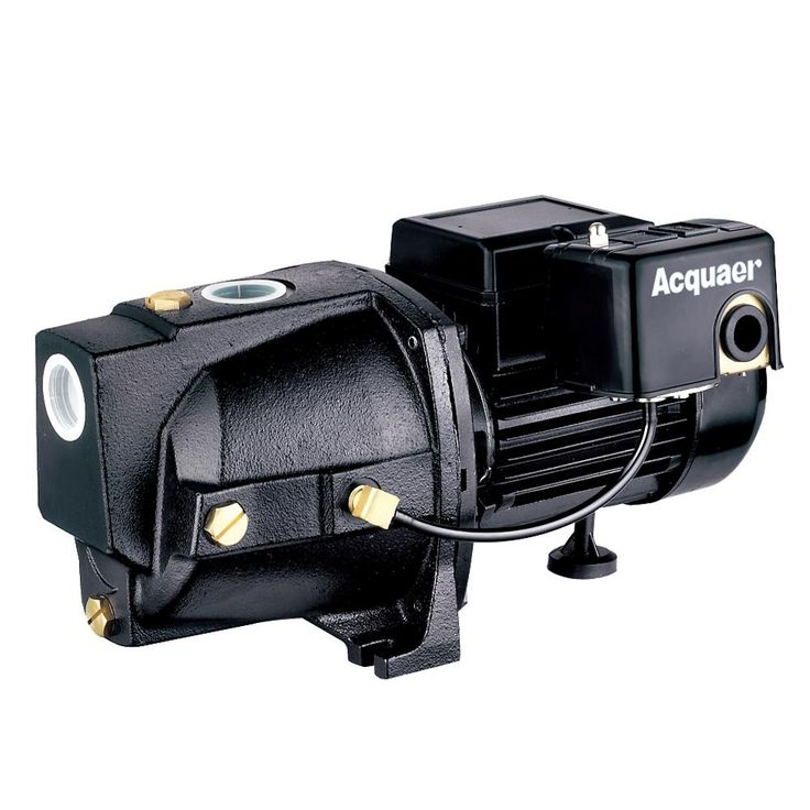 1/2 HP Dual Voltage Cast Iron Shallow Well Jet Pump