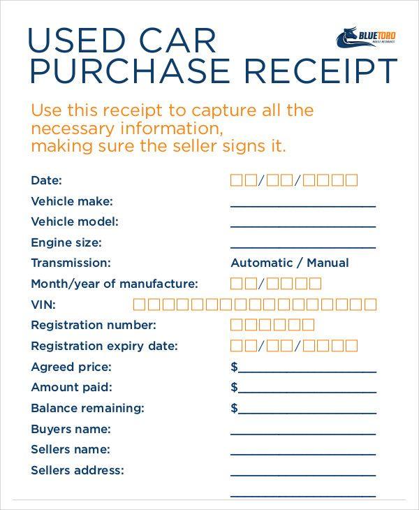 Purchase Receipt Templates 14 Free Printable Word Excel Pdf Formats Receipt Template Purchase Receipt Receipt