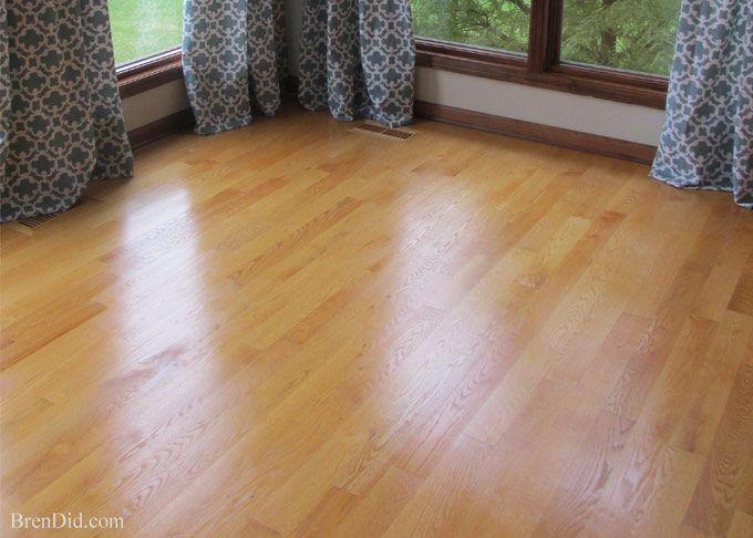 Non-Toxic All Natural Restorer for Hardwood Floors | http://brendid.com/all-natural-restorer-for-hardwood-floors/