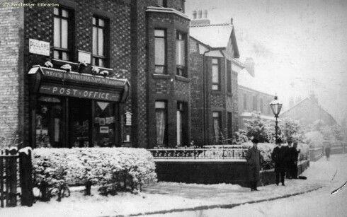 Wythenshawe Road, Northenden, 1910
