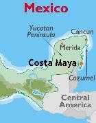 costa maya excursions.