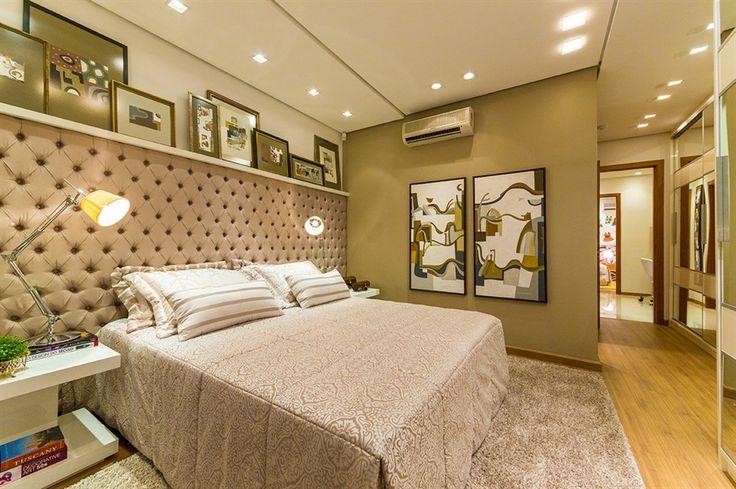 master bedroom / suite master / apartamento decorado / home decor / bohrer arquitetura / interior design