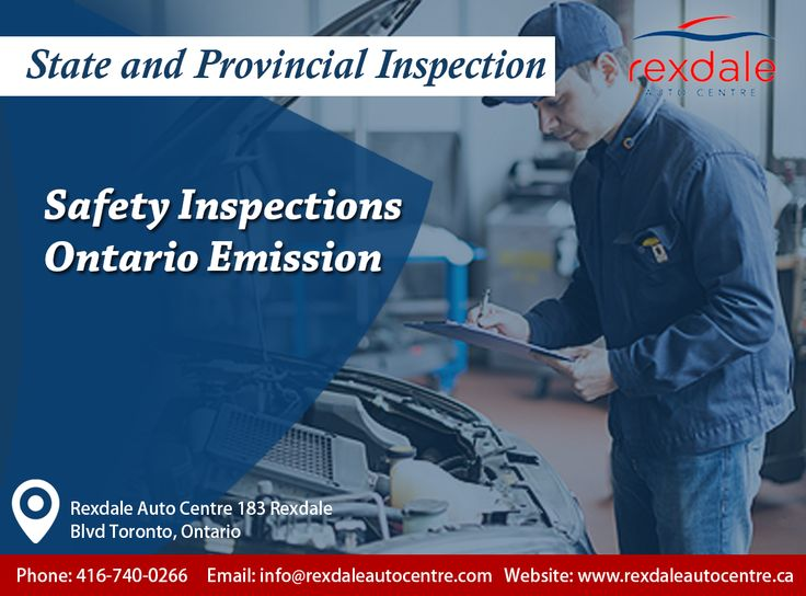 To All Of Our Patrons, We Would Like To Share Our Inspection Program. If You Come In For Emissions Testing We Will Do A Safety Inspection For You.  So Stop In For Your Next S/IM Inspection At Sandy Tunex And We Will Help Make Sure You And Your Family Are Safe. For More Info & Service Contact: Call: 416-740-0266 Visit: http://www.rexdaleautocentre.ca/ #Auto #Wheel #AutoRepair #Car #OntarioCA #UplandCA #Ontario #Service #Upland #Alignment #Maintenance