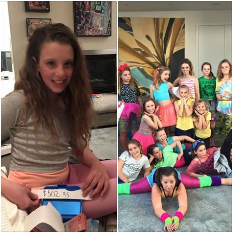 Amelia's 80's party was a huge success. She asked for money for cots in lieu of presents and was thrilled with the $502 haul. 3 cots plus some mattress protectors! Happy 11th Birthday.