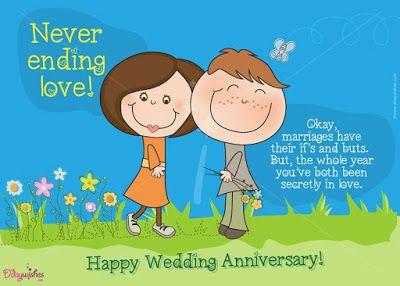 Never ending love Anniversary for wife
