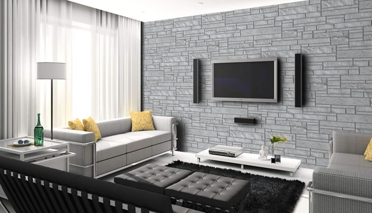 Leeroc pav s briques et pierres pierre d corative rinox for Brique de parement interieur