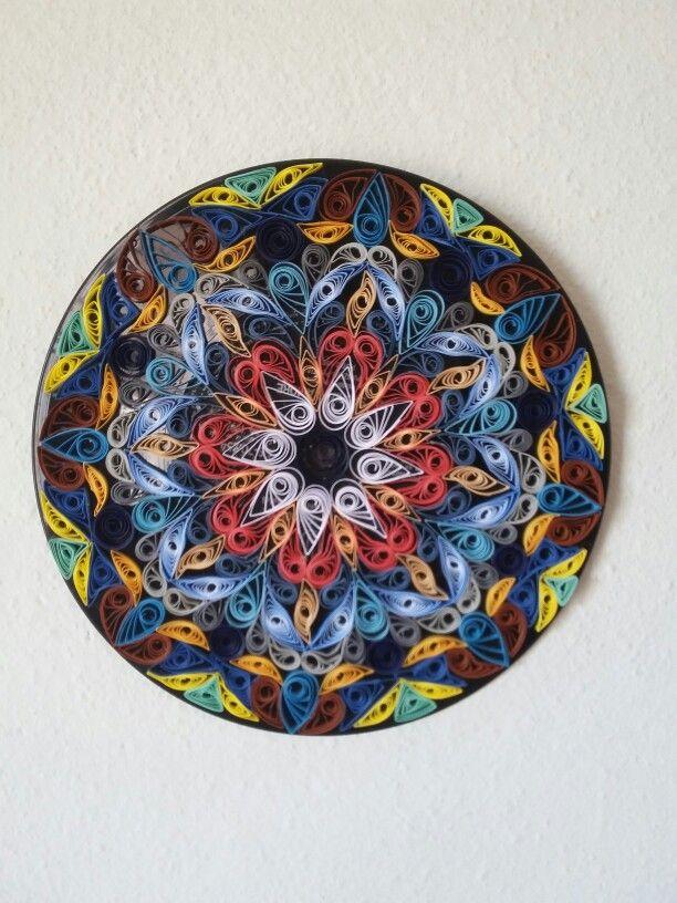 Mandala em quilling