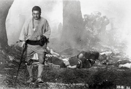 Zatoichi - yeah, all that carnage would be his. LOL (Don't mess with him because he's blind).