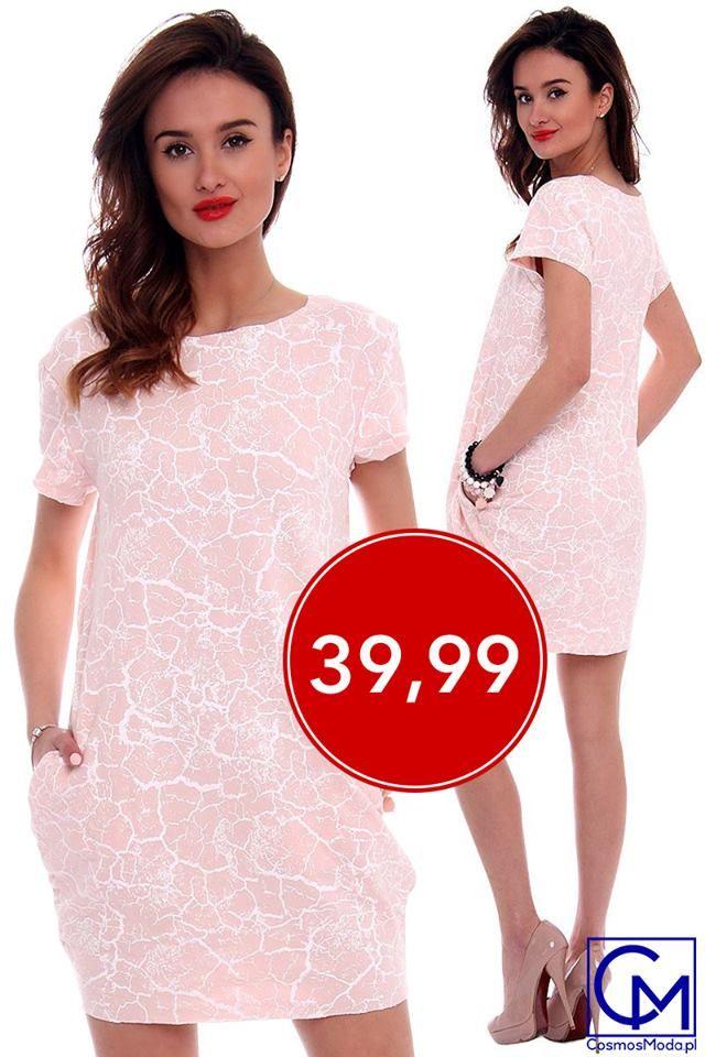 Uniwersalny krój w przystępnej cenie na pozytywne rozpoczęcie kolejnego tygodnia ;) 😘💝 Link do produktu: http://bit.ly/SukienkaCM094 Polub nas na Fb, a dostaniesz 10% na zakupy MODNEJ ODZIEŻY ➡️ http://bit.ly/CM_RABAT Stylistka Sara <3
