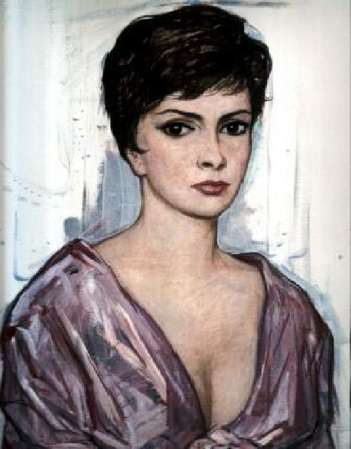 Джина Лоллобриджида. (1963). И.С. Глазунов