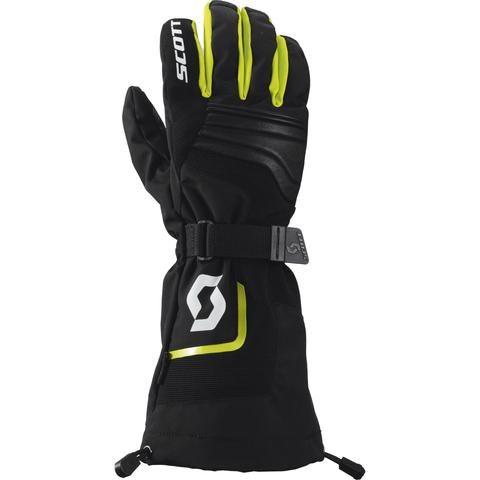 Scott CUBRICK II LONG Gloves (BLK/LME) www.importationsthibault.com