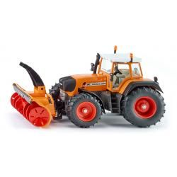 Tractor with snow cutter blowe r - TRACTOR & LOADER - SIKU FARMER