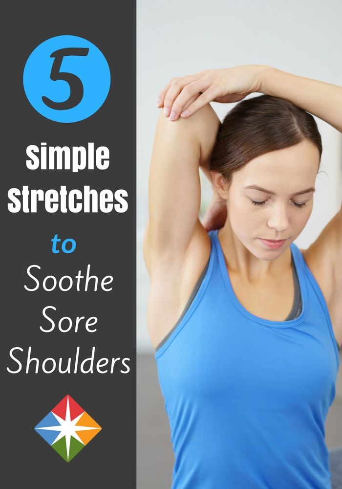 Give pain the cold shoulder! Include these five easy exercises in your daily workout or yoga practice to ease stiffness and soreness.