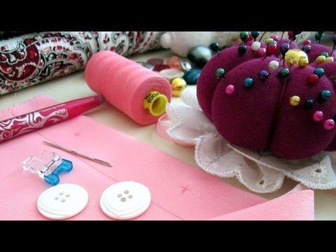 Aprende corte y costura gratis en casa - YouTube