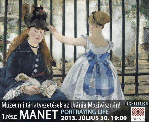 A véletlen úgy hozta, hogy július utolsó, forró hetére három programot is ajánlunk az impresszionizmus, és a művészeti irányzatot reprezentáló művészek rajongóinak:            Múzeumi tárlatvezetések az Uránia mozivásznán:      Manet, Munch és Vermeer...
