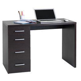 Työpöytä MARSLEV 4 laatikkoa kahvi