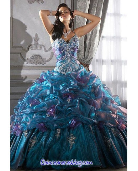 un modelo genial para mi vestido de xv años