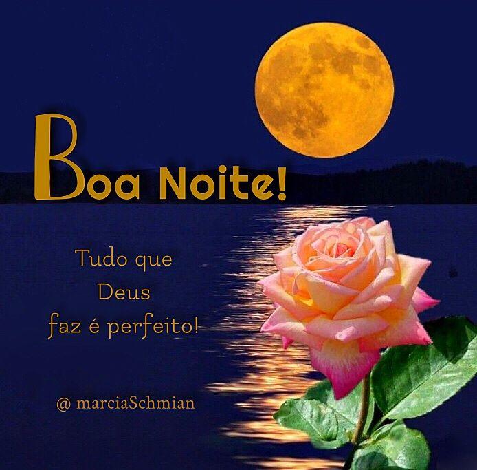 Boa Noite Boanoite Frases Reflexao Pensamentos Noite Lua