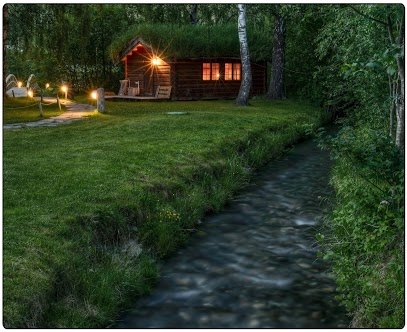 Cabin at Sjoa Rafting in Norway.  Photo: Gunnar Kristian Kopperud