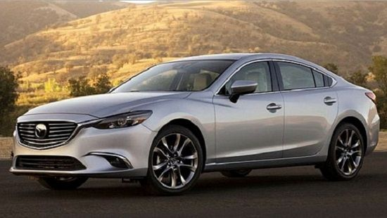 2017 Mazda 6 Debuts with G-Vectoring Steering, More Deluxe