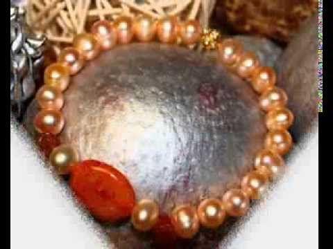Pulseras de perlas cultivadas