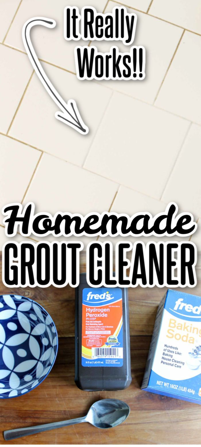 The Best Homemade Grout Cleaner In 2020 Homemade Grout Cleaner Grout Cleaner Grout Cleaning Diy