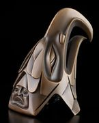 Eagle Bronze by Dempsey Bob, Tahltan, Tlingit artist (X61008)